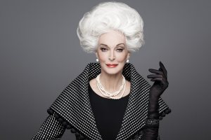Age 82 and STILL serving the glamour!!!!