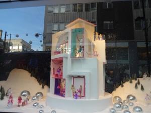 "The ""Barbie"" window at Selfridge's.  SO MUCH FUN!!!!!!"