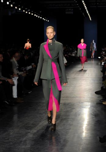 Altuzarra Autumn/Winter 2014. Love the pop of color in this piece!!!!!