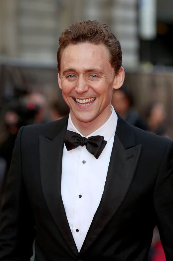 Tom Hiddleston (my straight guy crush) in Alexander McQueen at the Olivier Awards 2014