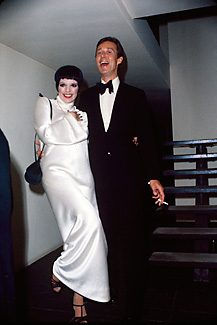 Halston with Liza Minnelli.