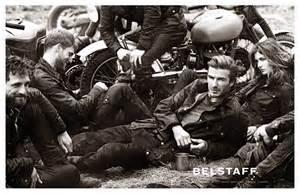 David Beckham Spring/Summer 2014 Belstaff campaign