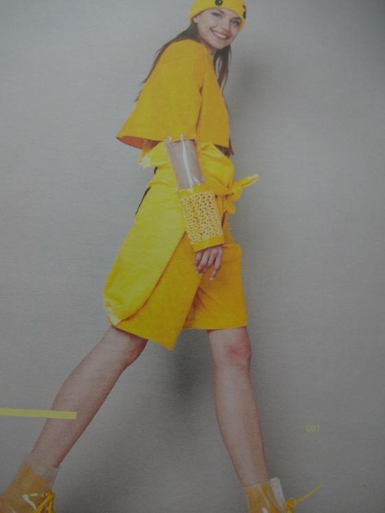 Amelia Bebbington-Fashion Design- Amazing pieces, mostly yellow, but totally fun!!!!