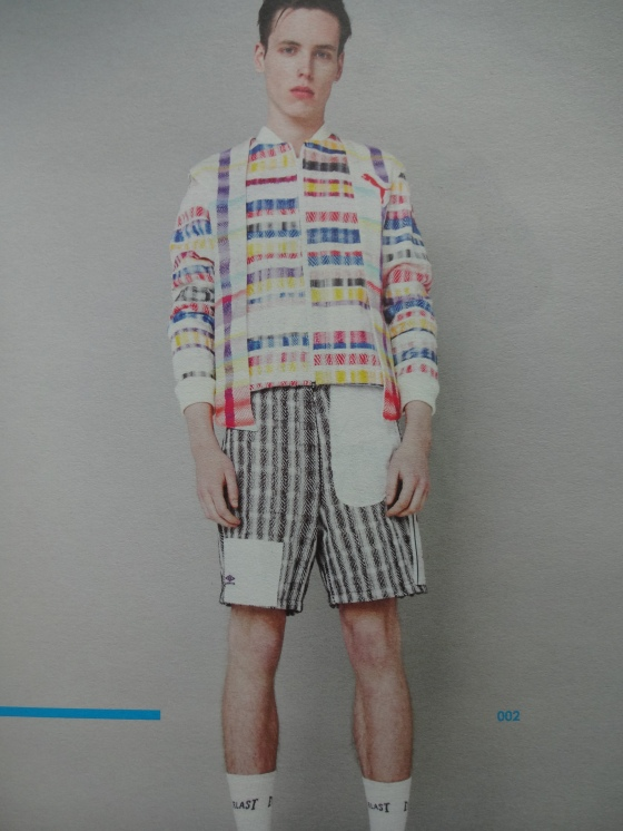 Sophie Lang- Fashion Textiles- Love the menswear pieces and the prints were amazing!!!!!