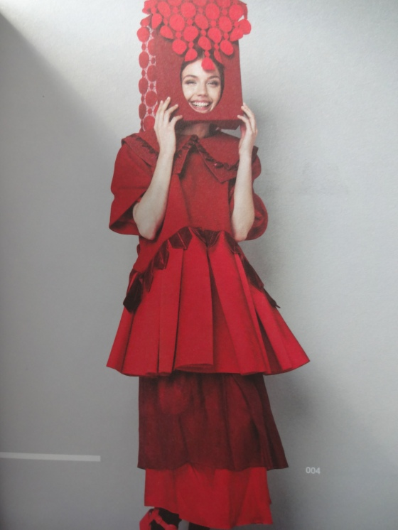Hannah Vestin- Fashion Design- Love the bold use of red and the amazing hats that she created. I got to meet her and gush about her work!!!!