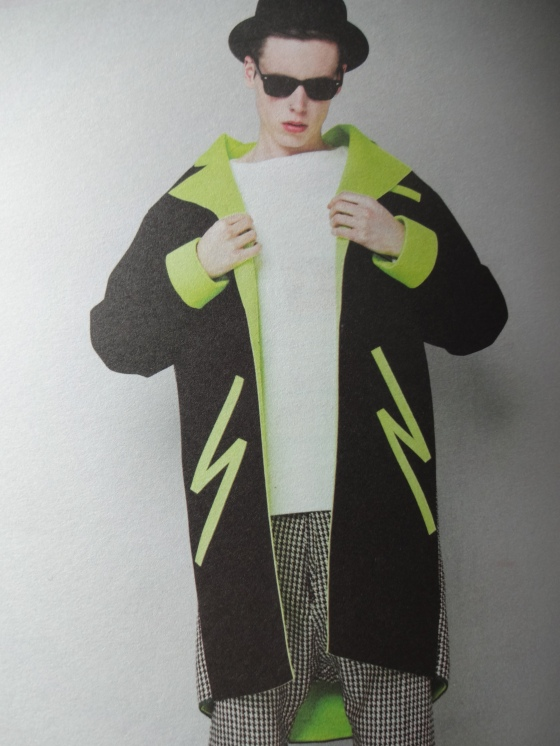 Ji Hye Heo- Fashion Design- Love her clean lines with pops of neon and color.