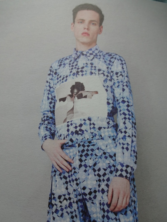 """Chloe Smythe- Fashion Design- Her menswear pieces are """"off da chain""""!!!! Love the prints and the cuts of the pieces!!!!"""
