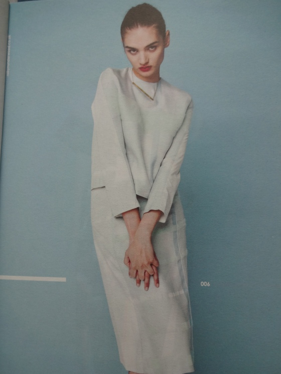 Robyn Underwood- Fashion Textiles- Love the softness of her fabrics and the shapes she is using.