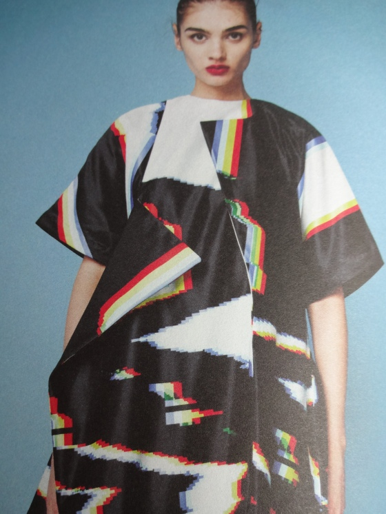Ioannis Koseloglou- Fashion Textiles- LOVE LOVE LOVE LOVE LOVE her pieces!!!! This print alone is AMAZEBALLS!!!! I need a bolt or two of this!!!!!!