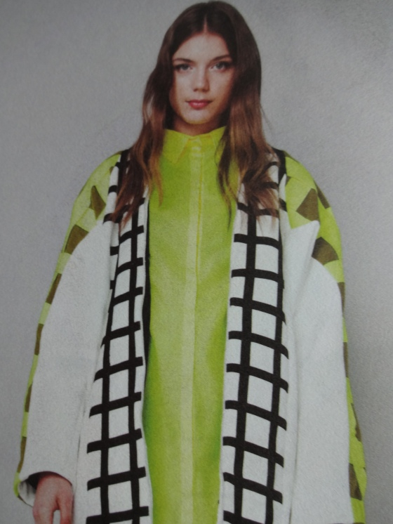 Rhiannon Wakefield- Fashion Design- Love the use of the print and the contemporary take on the classic shift dress and jacket!!!