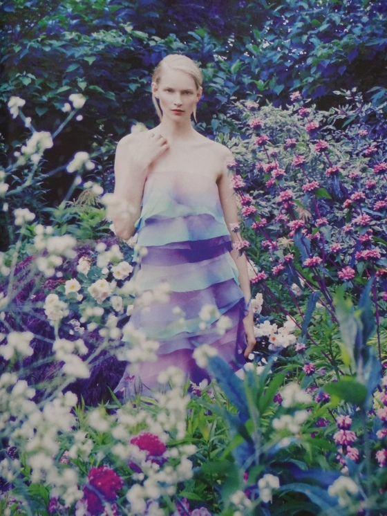 The Into The Woods editorial in the September 2014 issue of Harper's Bazaar.