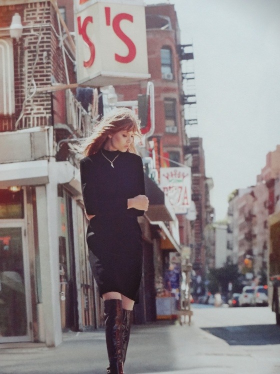 The Street Smart editorial in the September 2014 issue of Harper's Bazaar.