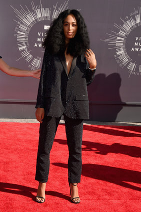 Solange Knowles at the MTV Video Music Awards 2014.