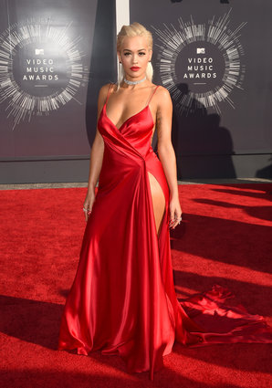 Rita Ora at the MTV Video Music Awards 2014.