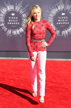 Chloe Grace Moretz at the MTV Video Music Awards 2014.