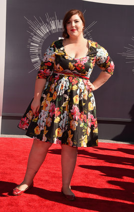 Mary Lambert at the MTV Video Music Awards 2014.