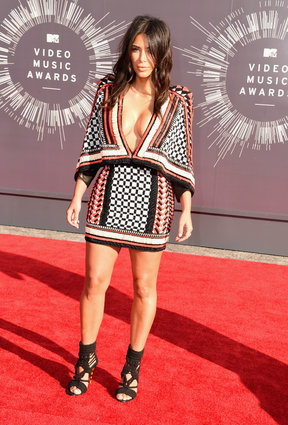 Kim Kardashian at the MTV Video Music Awards 2014.