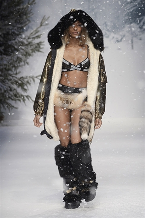 Moschino Men Autumn/Winter 2015 (love my girl, Jourdan Dunn)
